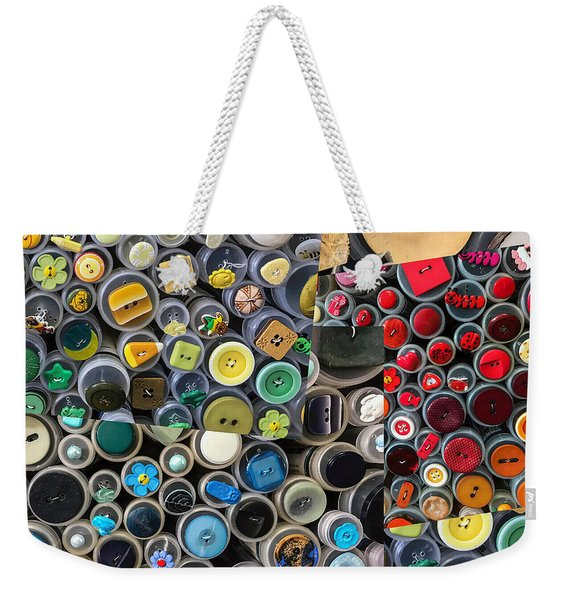 Just Buttons Weekender Tote Bag