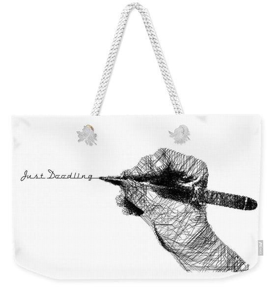 Just Doodling Weekender Tote Bag