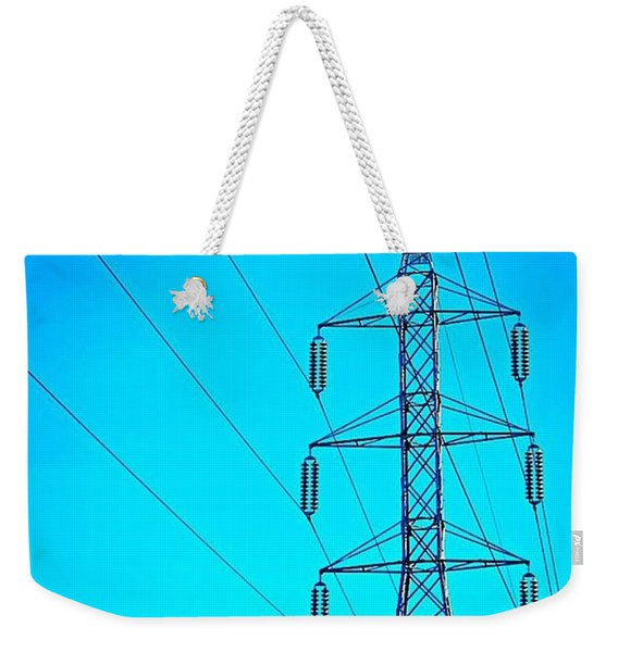 Just Feeling #electric!  2nd Photo For Weekender Tote Bag