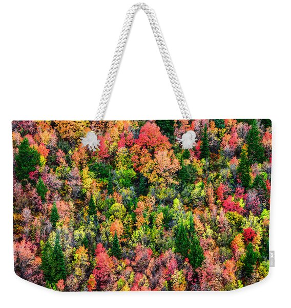 Just In Time Weekender Tote Bag