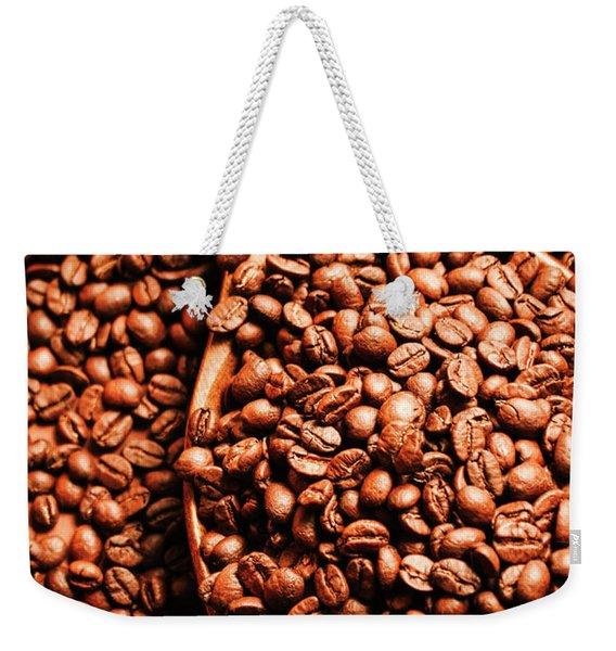 Just One Scoop At The Coffee Brew House  Weekender Tote Bag