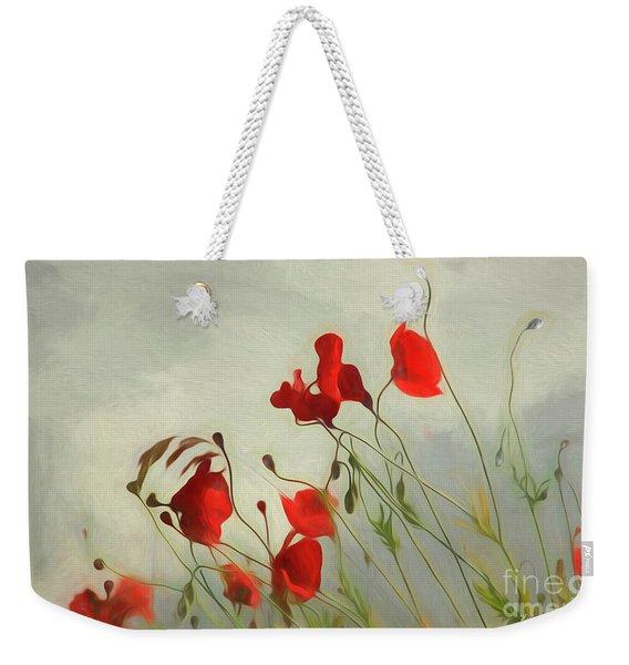 Just Some Poppies Weekender Tote Bag