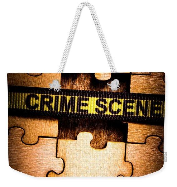 Justice Department Coverup Weekender Tote Bag