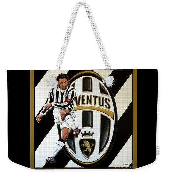 Juventus Fc Turin Painting Weekender Tote Bag