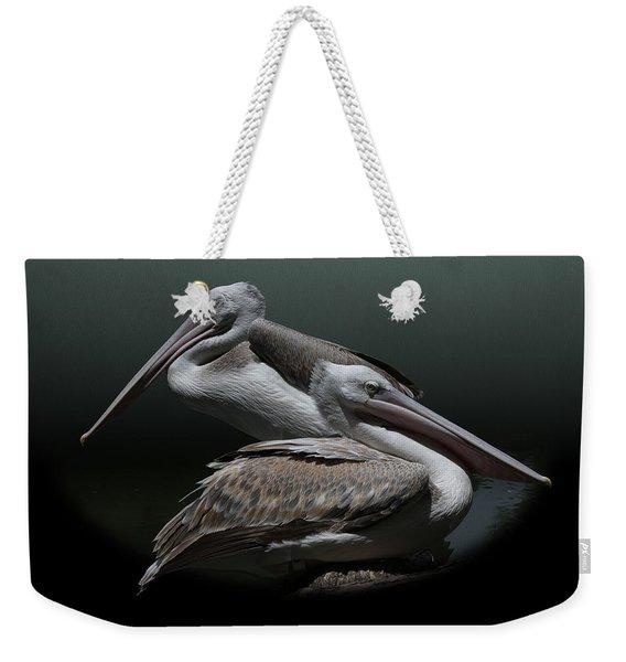 Juxtaposition - Pelicans Weekender Tote Bag
