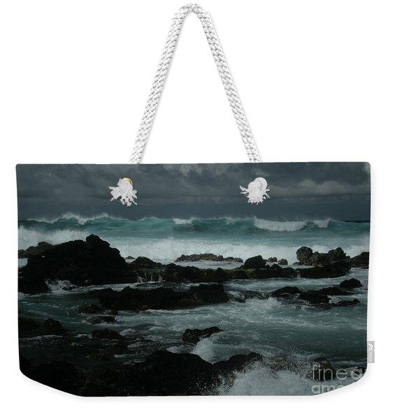 Ka Makani Kaiili Aloha Hookipa Maui Hawaii  Weekender Tote Bag