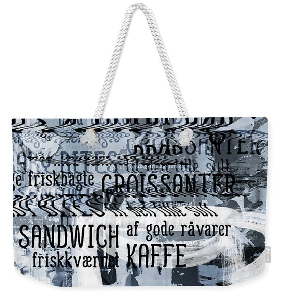 Kaffe 1- Art By Linda Woods Weekender Tote Bag