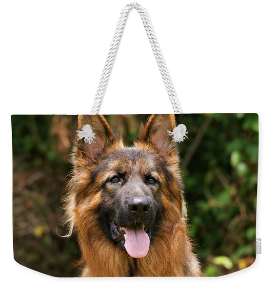 Kaiser - German Shepherd Weekender Tote Bag