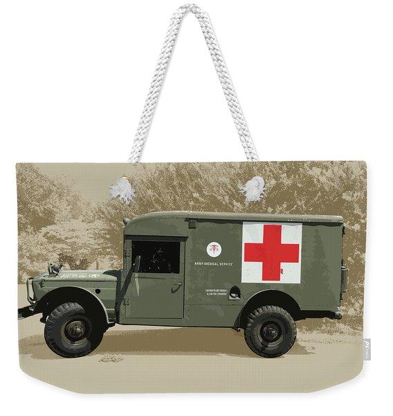 Kaiser Jeep M725 Army Weekender Tote Bag