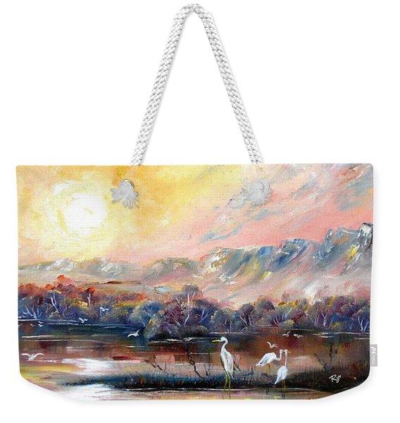 Kakadu Weekender Tote Bag