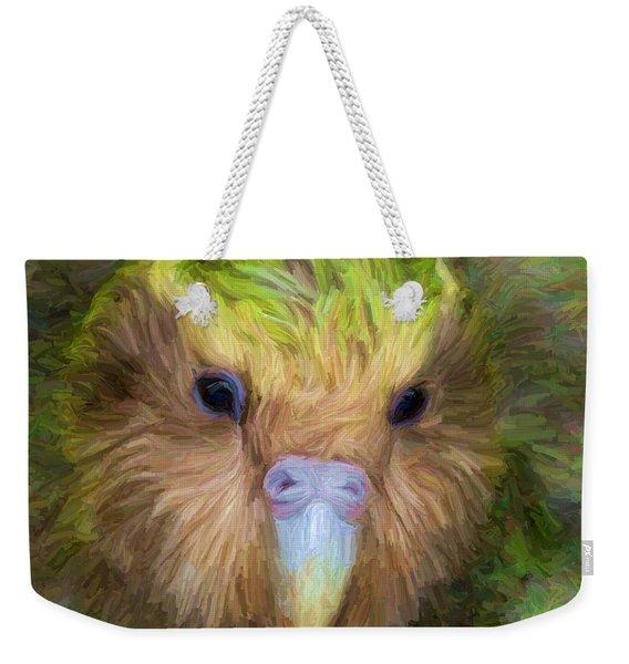 Kakapo Weekender Tote Bag