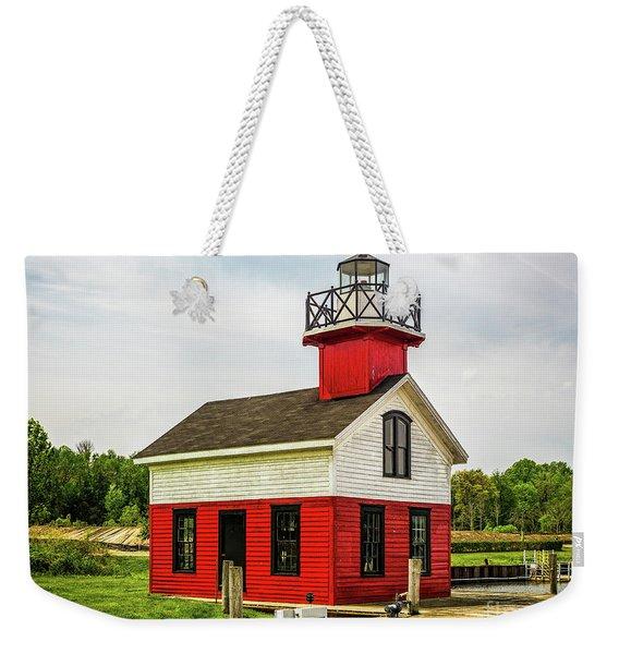 Kalamazoo Lighthouse Weekender Tote Bag