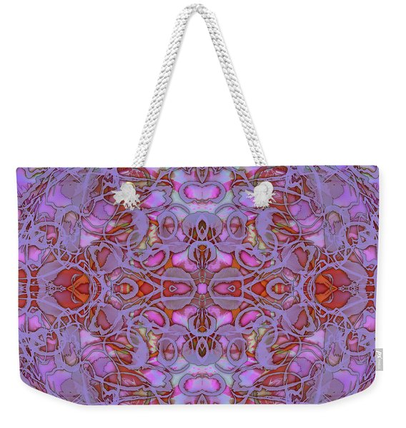 Kaleid Abstract Focus Weekender Tote Bag