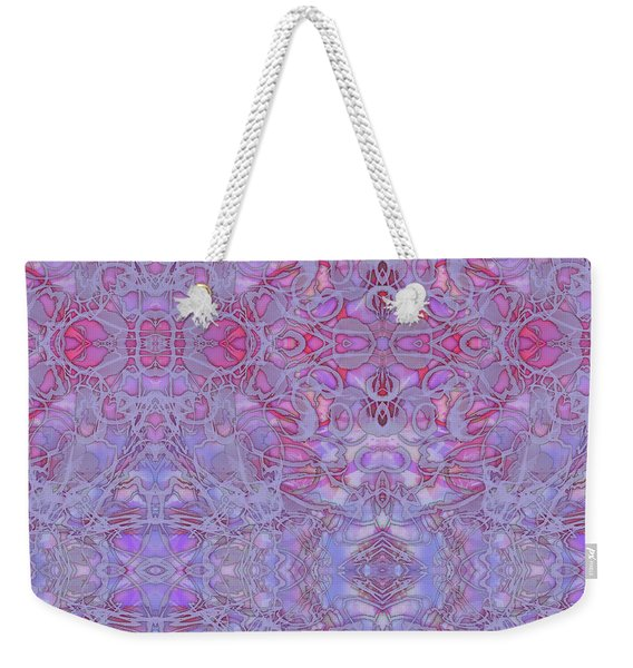 Kaleid Abstract Halo Weekender Tote Bag