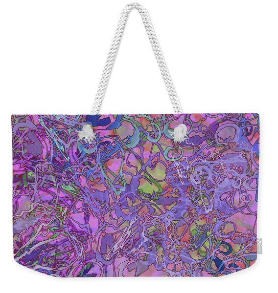 Kaleid Abstract Trip Weekender Tote Bag
