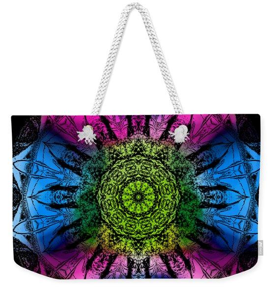 Kaleidoscope - Colorful Weekender Tote Bag