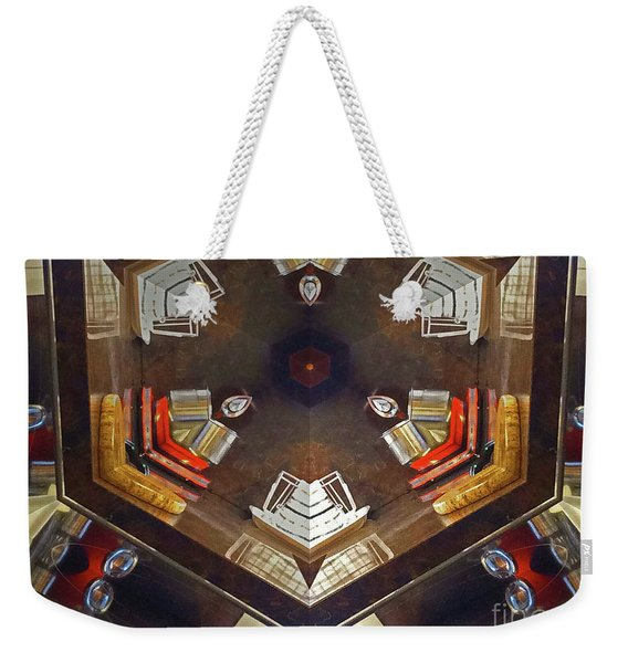 Kaleidoscope Mirror Effect 13 Weekender Tote Bag