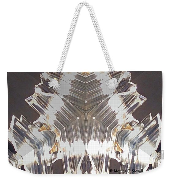Kaleidoscope Mirror Effect M11 Weekender Tote Bag