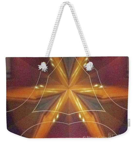 Kaleidoscope Mirror Effect M7 Weekender Tote Bag