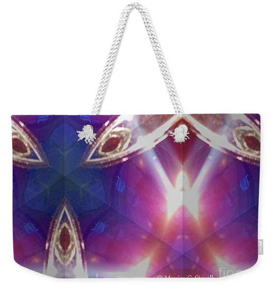 Kaleidoscope Mirror Effect M8 Weekender Tote Bag