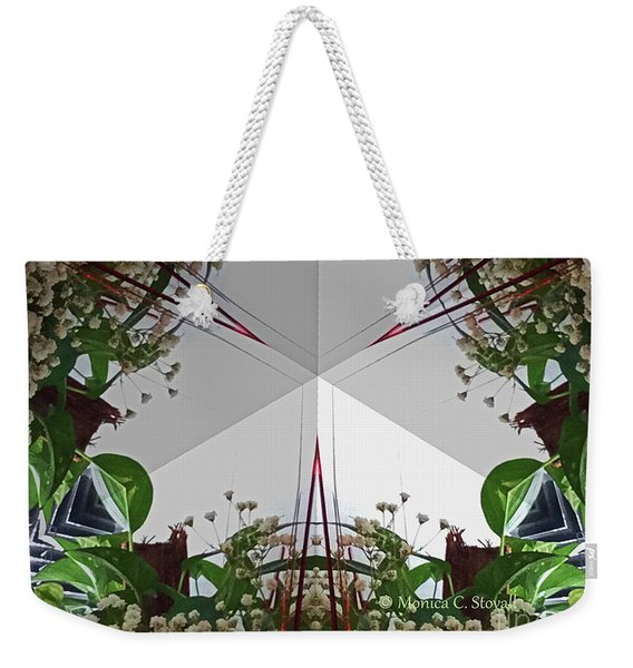 Kaleidoscope Mirror Effect M9 Weekender Tote Bag