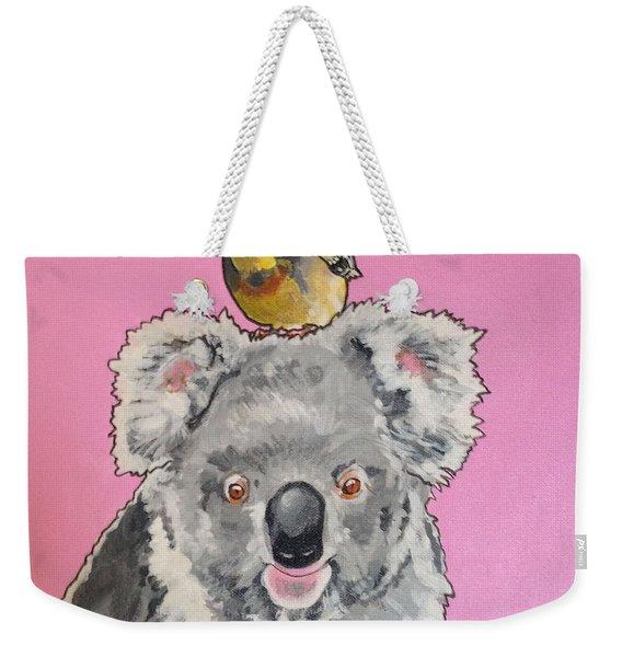 Kalman The Koala Weekender Tote Bag
