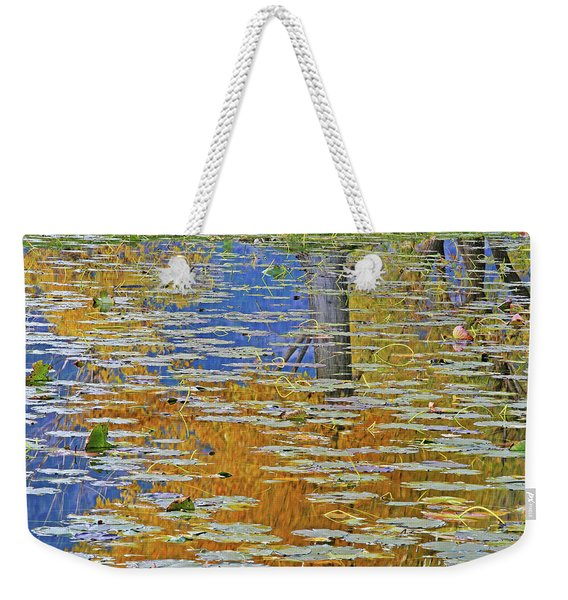 Kaloya Pond Autumn Weekender Tote Bag