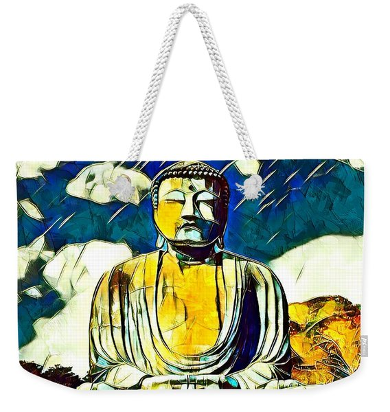 Kamakura Daibutsu Weekender Tote Bag