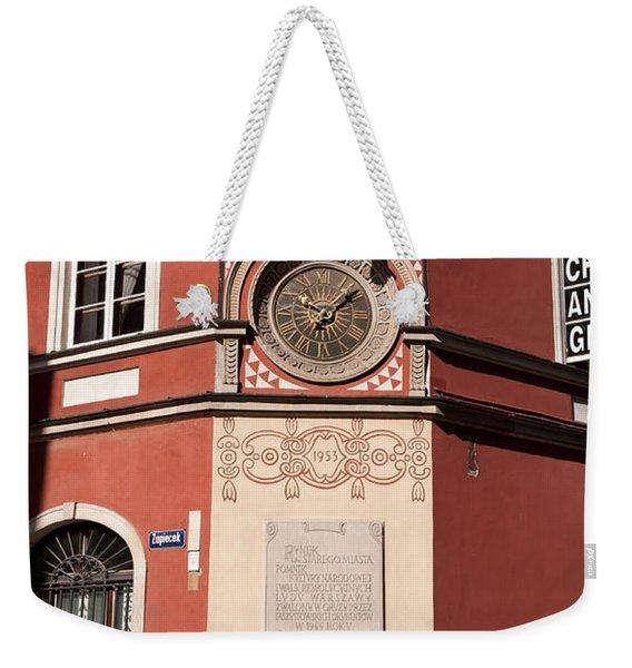Kamienica Simonettich Clock Weekender Tote Bag