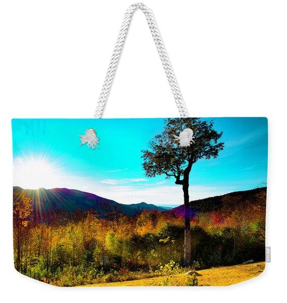 Kancamagus Sunset Weekender Tote Bag