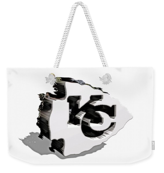 Kansas City Chiefs 6a Weekender Tote Bag