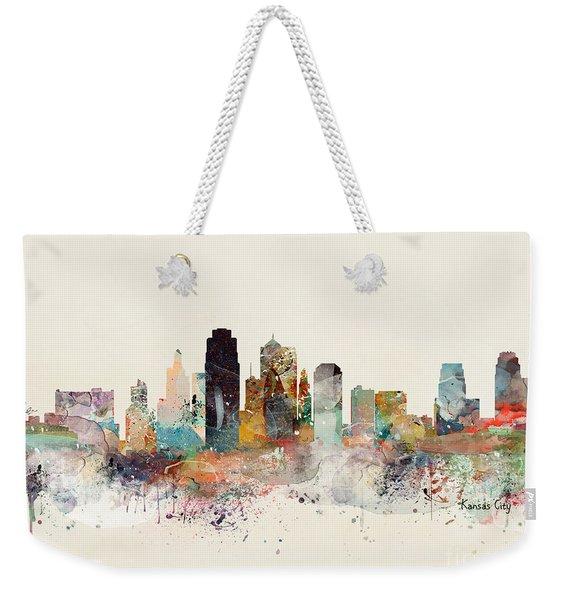 Kansas City Missouri Weekender Tote Bag