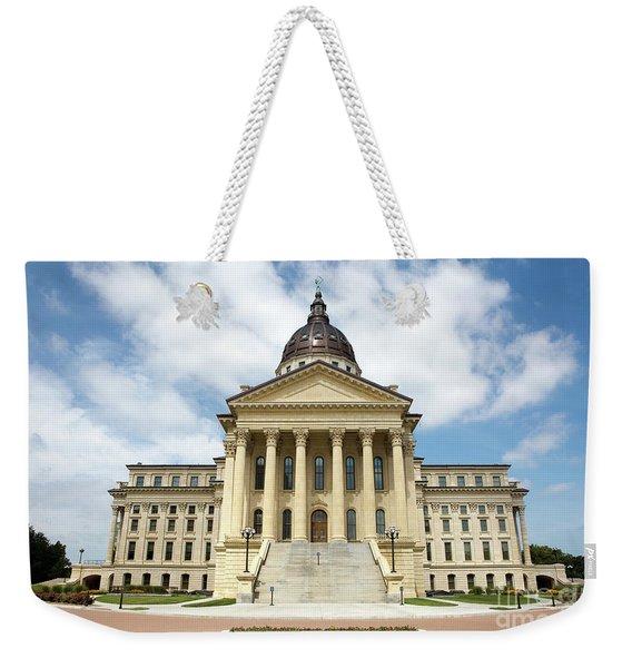 Kansas State Capitol Building Weekender Tote Bag