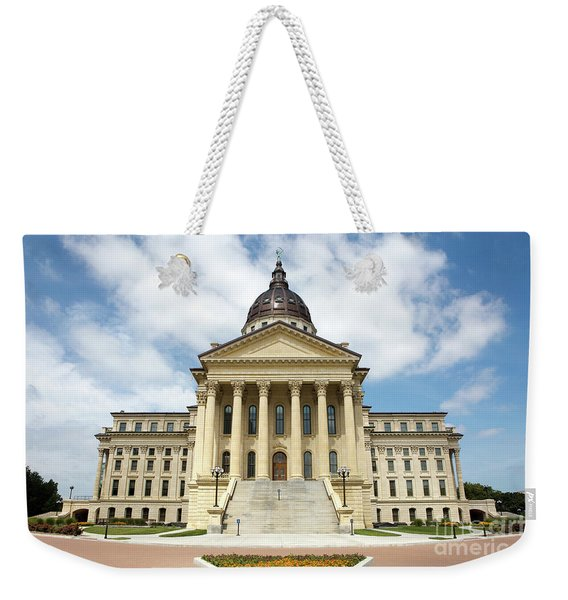 Kansas State Capitol Building Weekender Tote Bag
