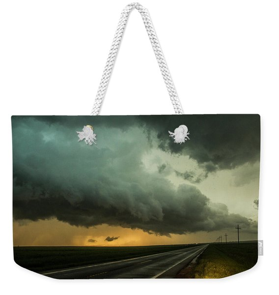 Kansas Storm Chase Bust Day 004 Weekender Tote Bag