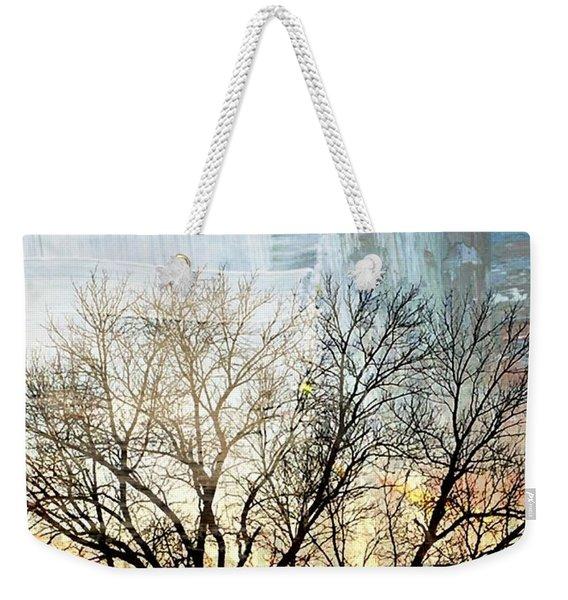 Kansas Sunset Weekender Tote Bag