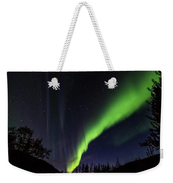 Kantishna Northern Lights In Denali National Park Weekender Tote Bag