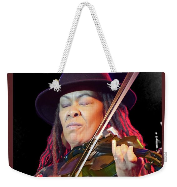 Karen Briggs 2017 Hub City Jazz Festival - In The Moment Weekender Tote Bag