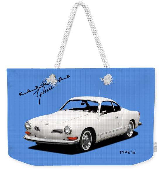 Karmann Ghia Weekender Tote Bag