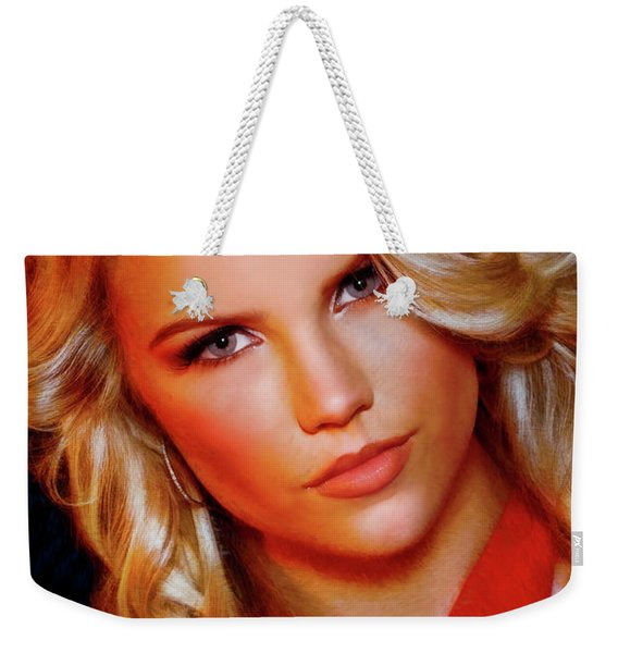 Kat Lernithan Miss Pacific Coast Pageant Weekender Tote Bag