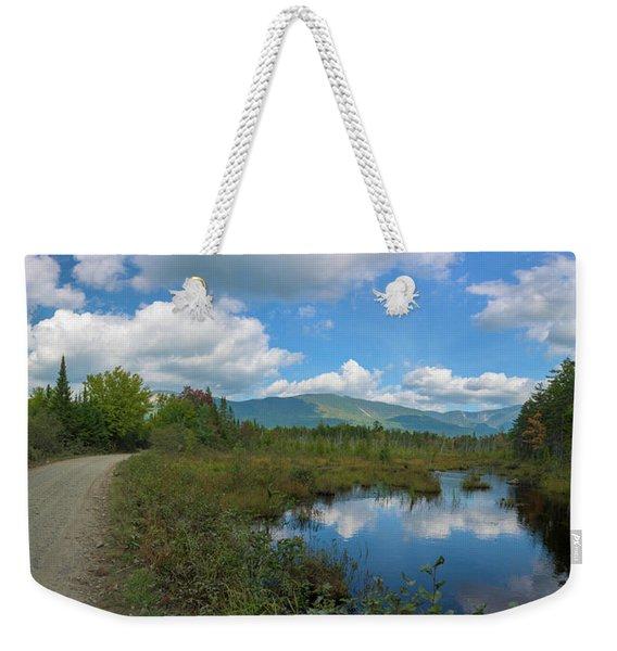 Katahdin In The Clouds Weekender Tote Bag