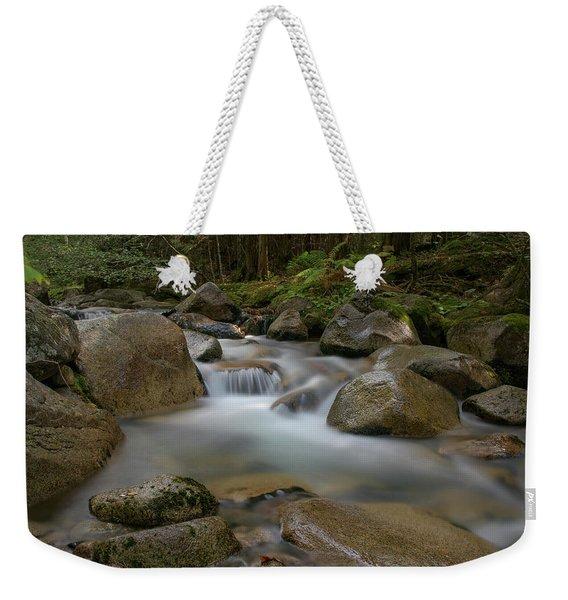 Katahdin Stream Cascades Weekender Tote Bag