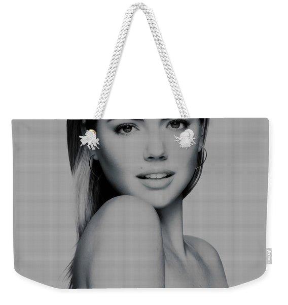 Kate Upton 17 Weekender Tote Bag