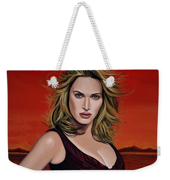 Kate Winslet Weekender Tote Bag