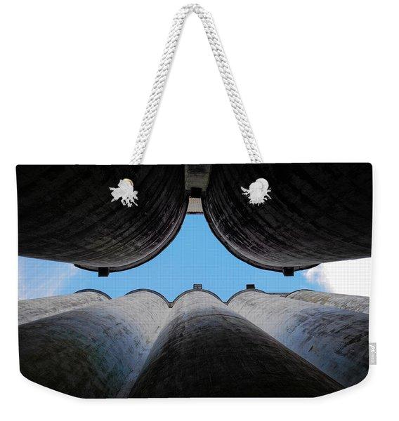 Katy Texas Rice Silos Weekender Tote Bag