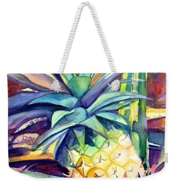 Kauai Pineapple 4 Weekender Tote Bag