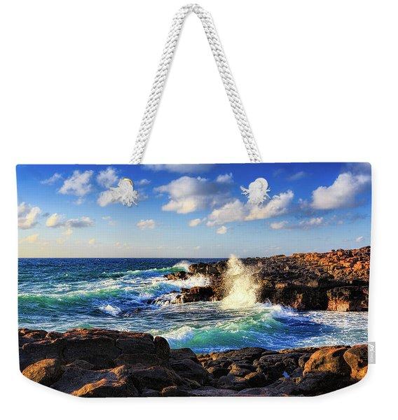 Kauai Surf Weekender Tote Bag