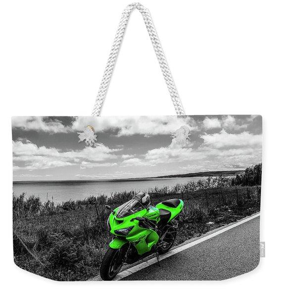 Kawasaki Ninja Zx-6r 2 Weekender Tote Bag