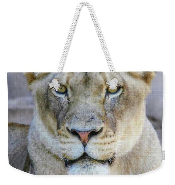 Kaya Portrait Weekender Tote Bag