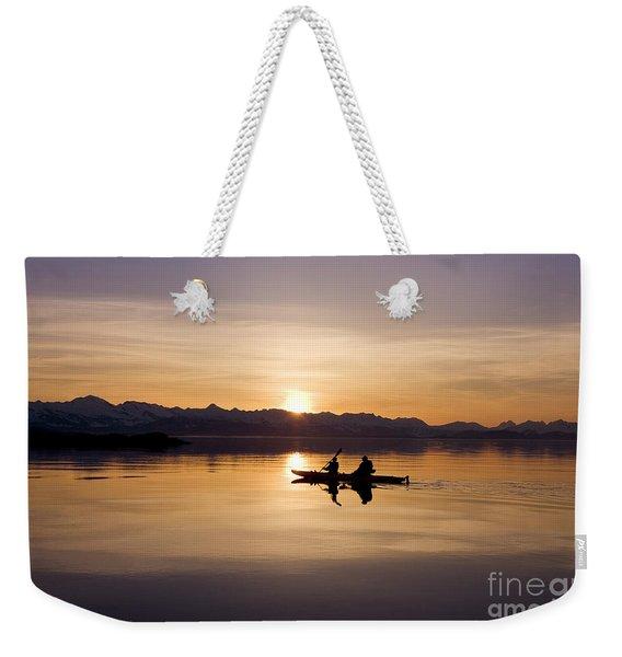 Kayak Silhouettes I Weekender Tote Bag